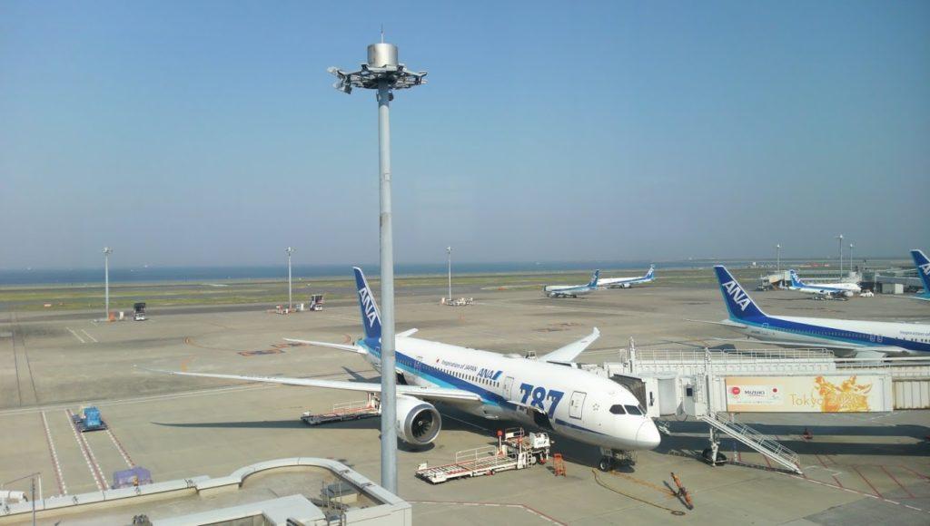 羽田空港 ANA787