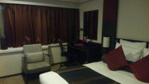 ANAクラウンプラザホテルの室内