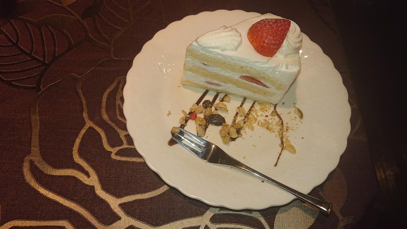 しのはら珈琲のケーキ
